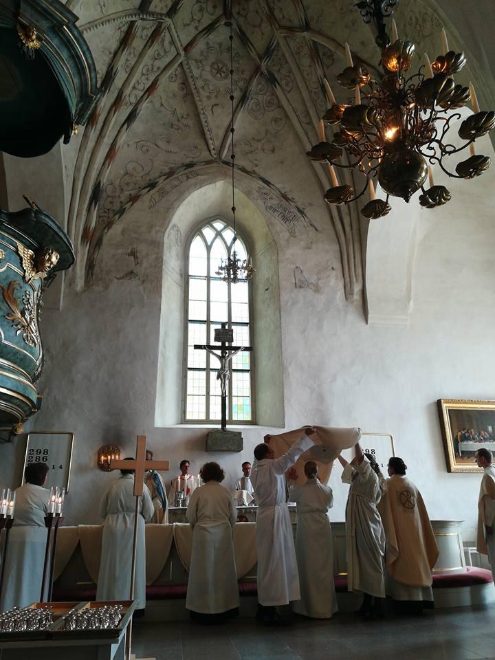 Prästvigning i Borgå domkyrka