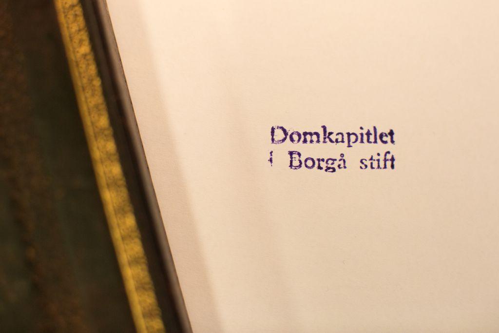 Domkapitlet i Borgå stift.