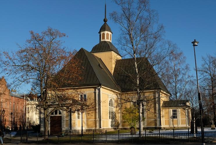 Kyrkan i Jakobstad.