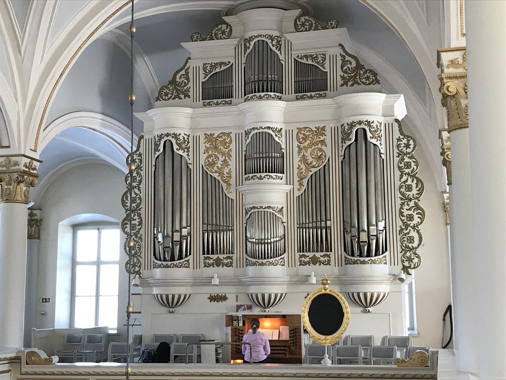 Orgeln i Korsholms kyrka